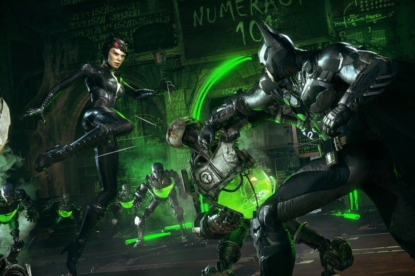 Batman, Batman: Arkham Knight, Gotham City, Catwoman, The Riddler Wallpapers  HD / Desktop and Mobile Backgrounds