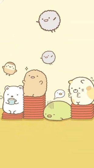 Sumikko gurashi phone wallpaper