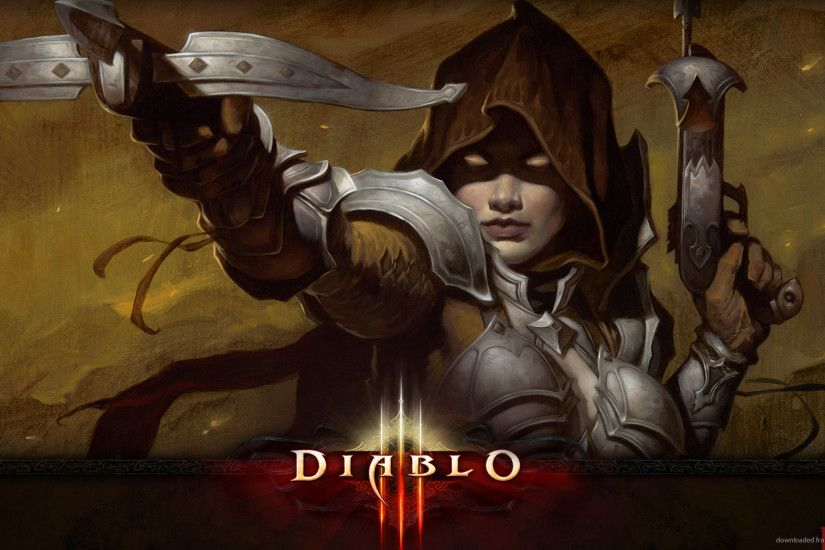 Diablo 3 Unlocked Exclusive Demon Hunter for 1920x1080