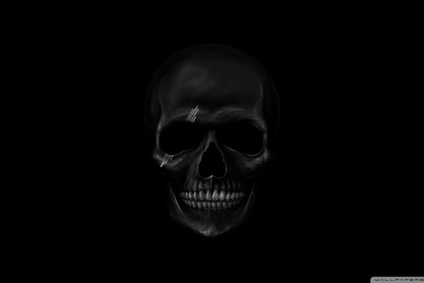 Download Black Skull Wallpaper 1920x1080 | Wallpoper #444256