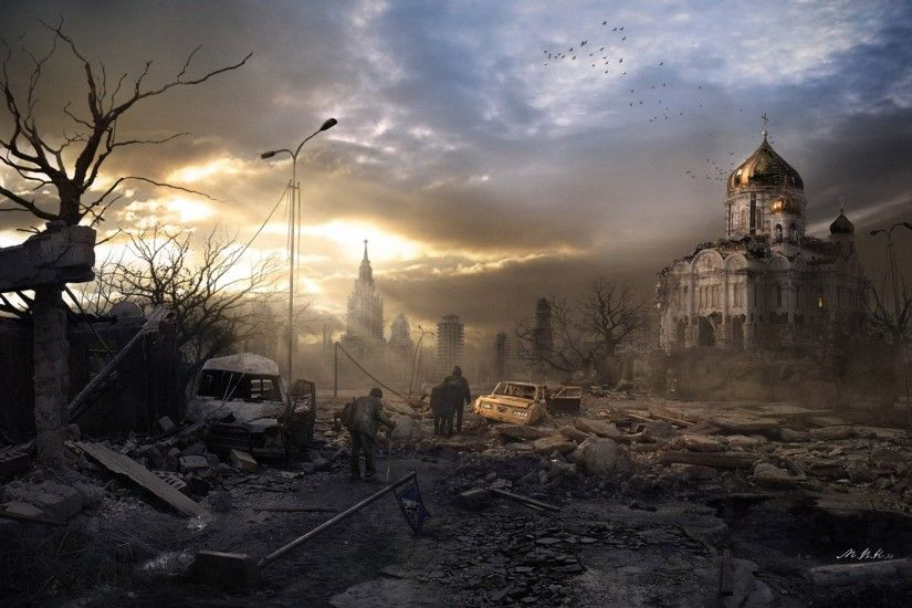 town moscow post art end of the world nuclear war