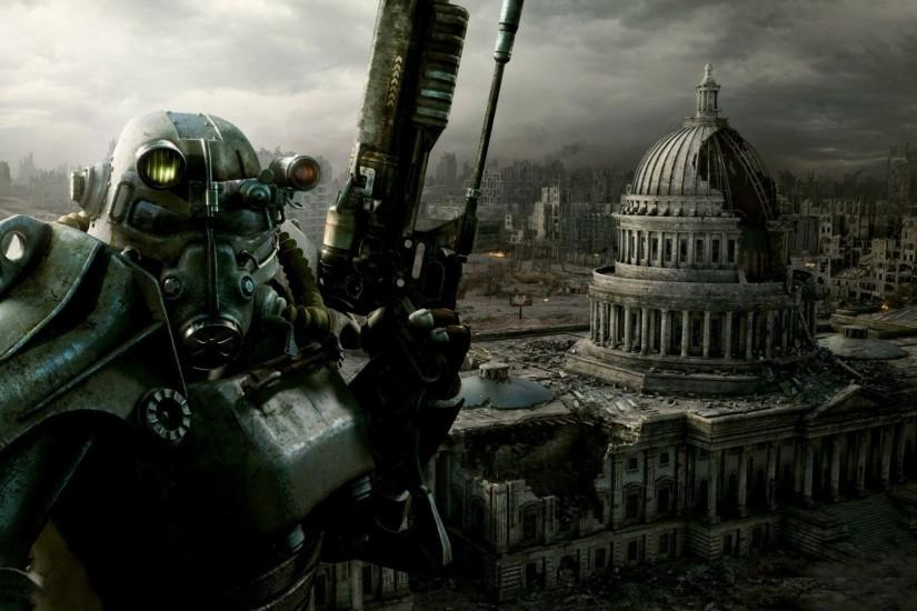 fallout fallout 3 brotherhood of steel wallpapers