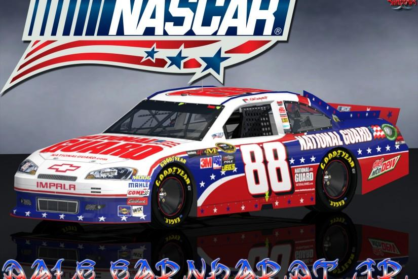 Dale Earnhardt Jr. Nascar Unites National Guard Wallpaper is a tribute .