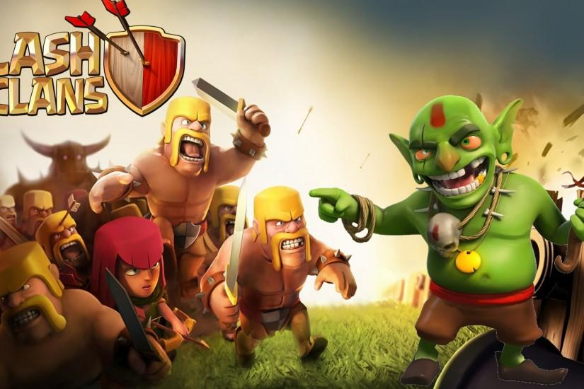 clash of clans wallpaper 2048x1152 for full hd