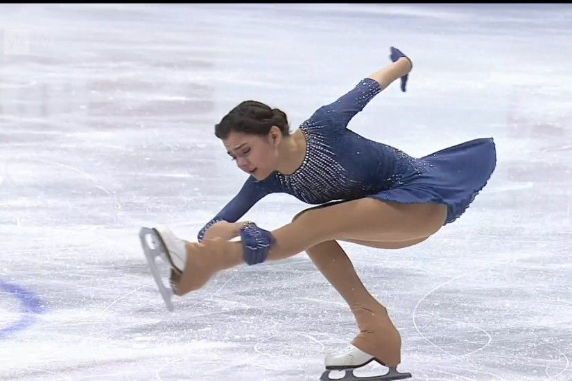 Jevgenia Medvedeva - Free skating - 2016 European Figure Skating  Championships - YouTube
