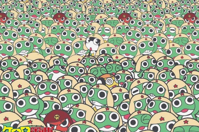 Frogs keroro gunso aliens ge