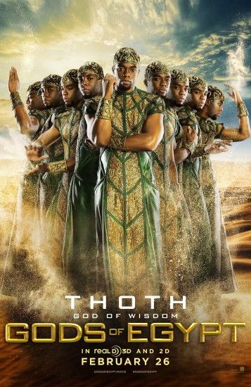 Gods of Egypt images Thoth Poster HD wallpaper and background photos