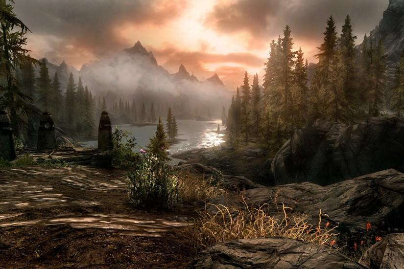 most popular skyrim background 1920x1080 for mac