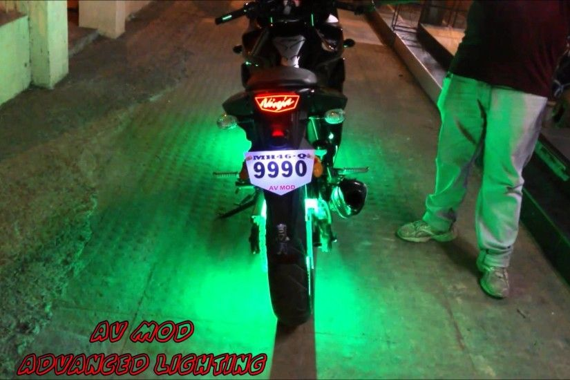 "Kawasaki Ninja 250R 3.0""PROJECTOR HEADLIGHT & MAGWHEEL LIGHT & FULL LED  CONCEPT BY VISHAL"