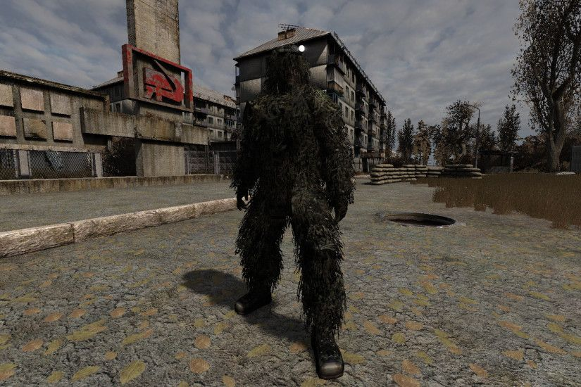 Ghillie Suit 1.7.1 [1.5b r6]