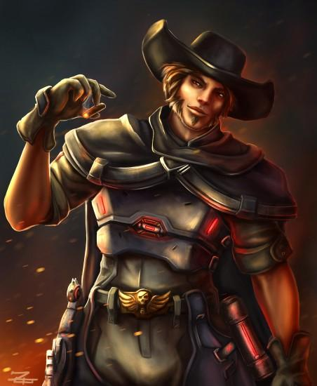mccree wallpaper 2050x2492 for android