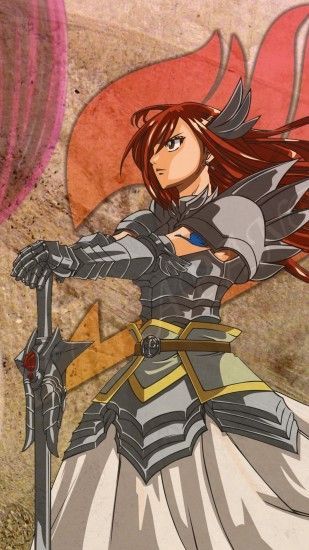 Anime Fairy Tail Erza Scarlet. Wallpaper 474657