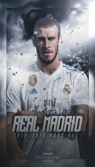 Real Madrid 2017/2018 Home kit poster by Ziadelprince22