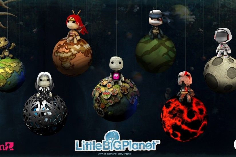 Cartoon - LittleBigPlanet Cartoon Game Wallpaper