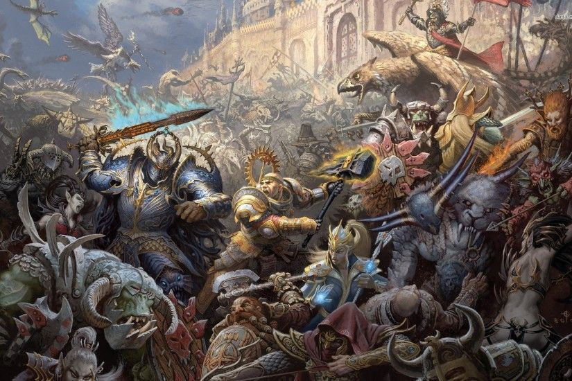 Top Comment. Warhammer Fantasy Wallpapers.