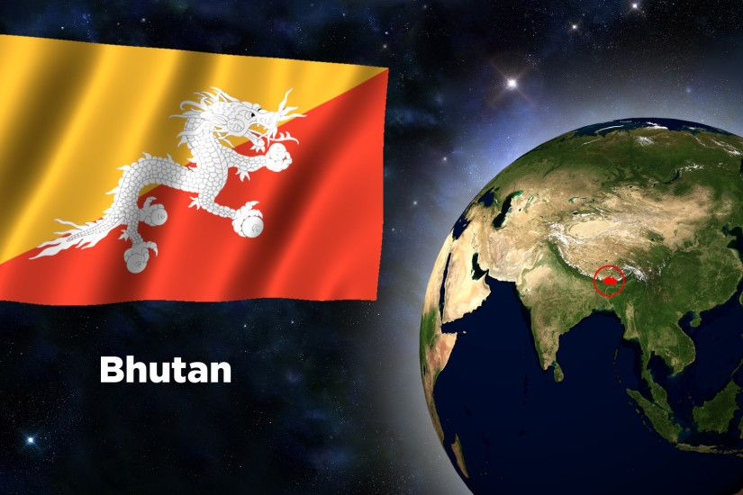 Flag Wallpaper - Bhutan by darellnonis Flag Wallpaper - Bhutan by  darellnonis