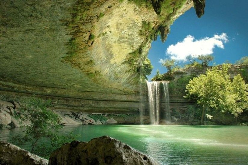 Waterfall Wallpapers for Desktop - WallpaperSafari Waterfall Desktop  Wallpapers - Wallpaper Cave ...
