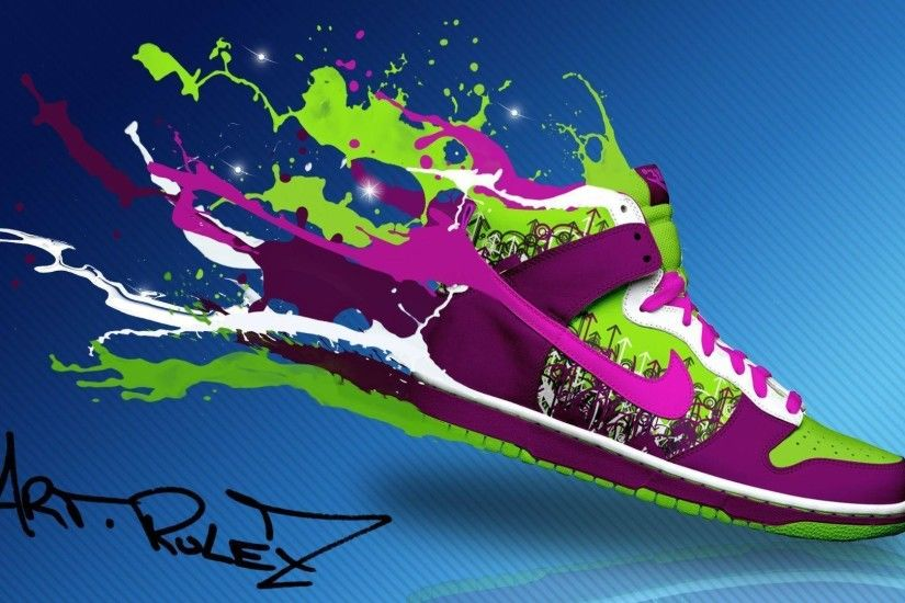 Trends For > Nike Shoes Wallpaper For Android