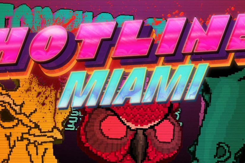 Wallpaper from Hotline Miami