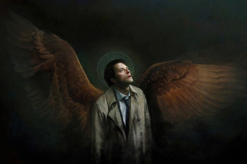Wallpapers for Desktop: supernatural castiel pic, 2259 kB - Stanford Fairy