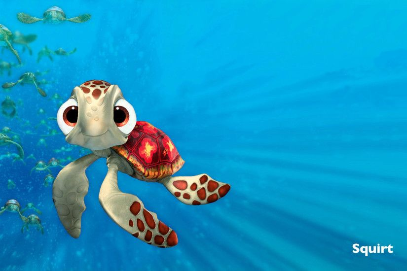 Finding Nemo Squirt 1920x1200 #884 HD Wallpaper Res: 1920x1200 .