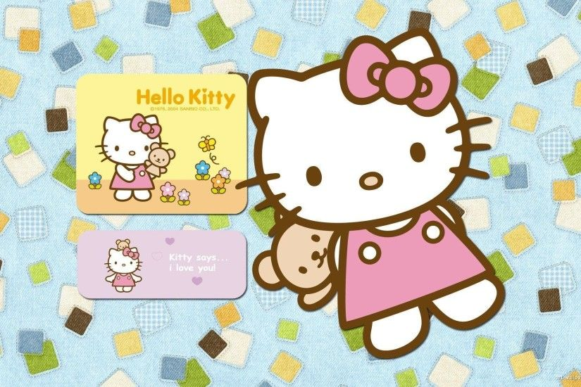 Wallpapers For > Wallpaper Hello Kitty Hd
