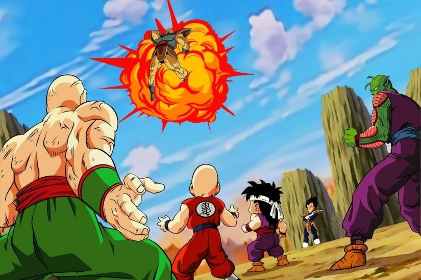 Anime - Dragon Ball Z Nappa (Dragon Ball) Vegeta (Dragon Ball) Piccolo