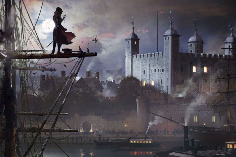Assassin's Creed Syndicate is, as Assassin's Creed games usually are, very  pretty. Which is the result of a massive team of artists from all over the  world ...