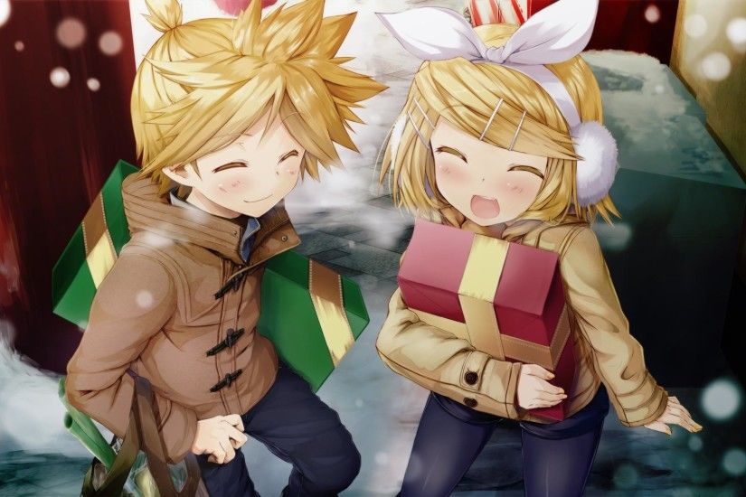 Rin and Len Kagamine, Full HD Photos, Heng Kiossel