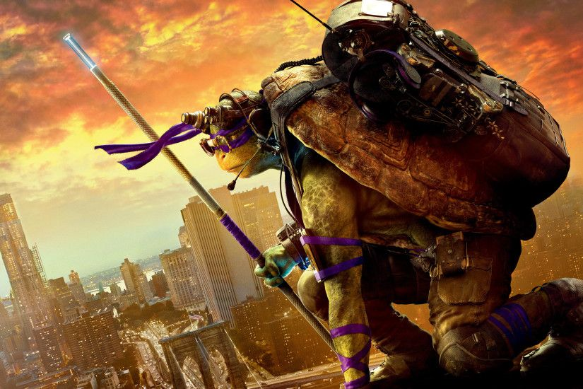 Donatello Teenage Mutant Ninja Turtles Out of the Shadows