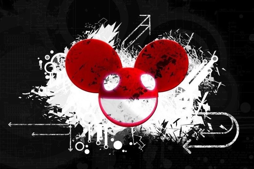 Preview wallpaper deadmau5, graphics, mouse, light, design 3840x2160