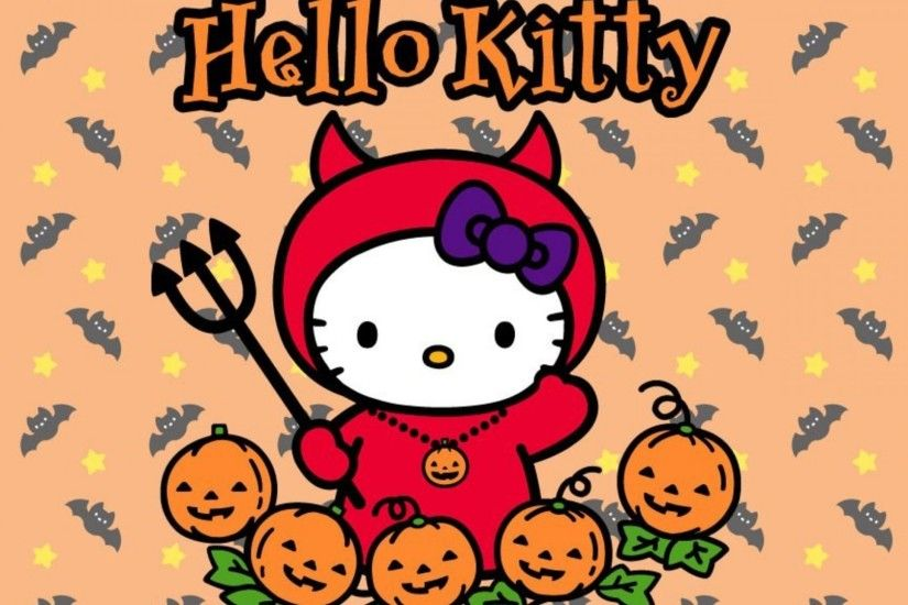Hello Kitty Halloween Wallpaper Download Free.