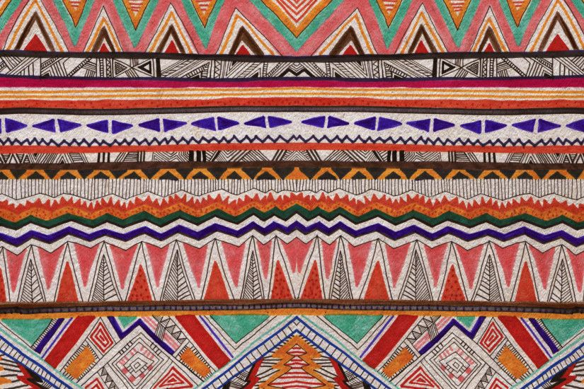 African Tribal Patterns Backgrounds Vibrant pattern background