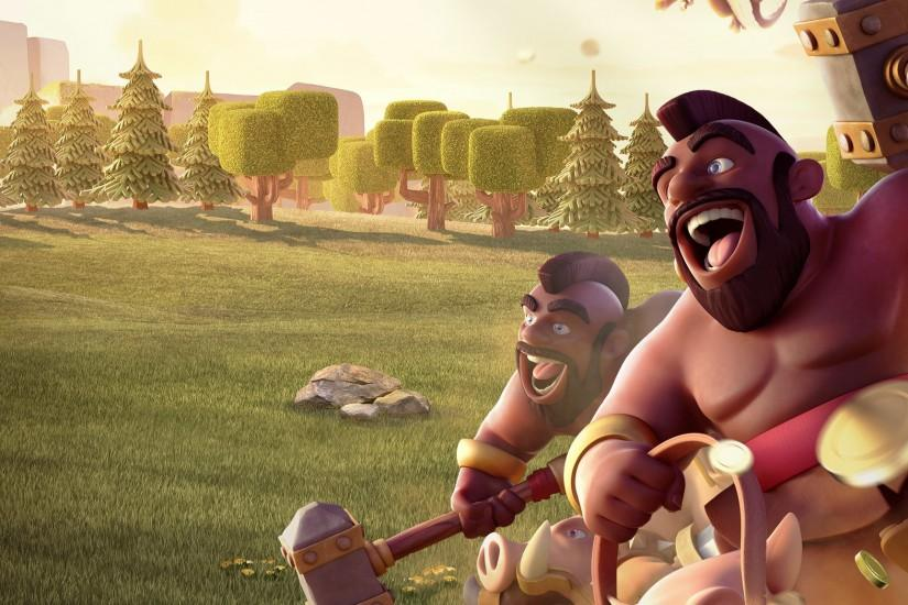 clash of clans wallpaper 2048x1152 for ipad