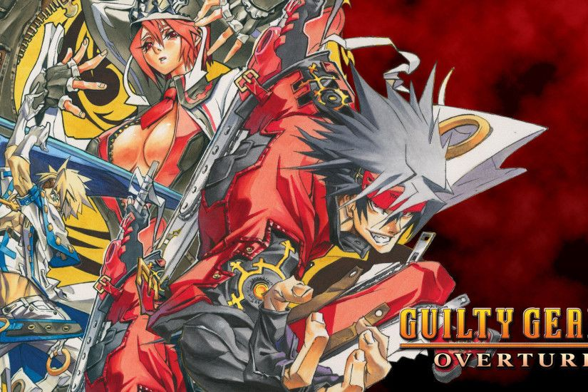 guilty gear 2 overture magic technology widescreen hd wallpaper
