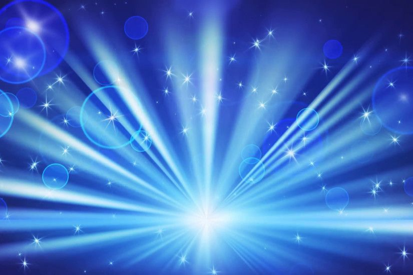 lights and shining stars blue loop background Motion Background -  VideoBlocks