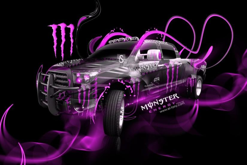 Pink Monster Energy Logo | Pink Monster Energy Wallpaper Monster energy  toyota tundra