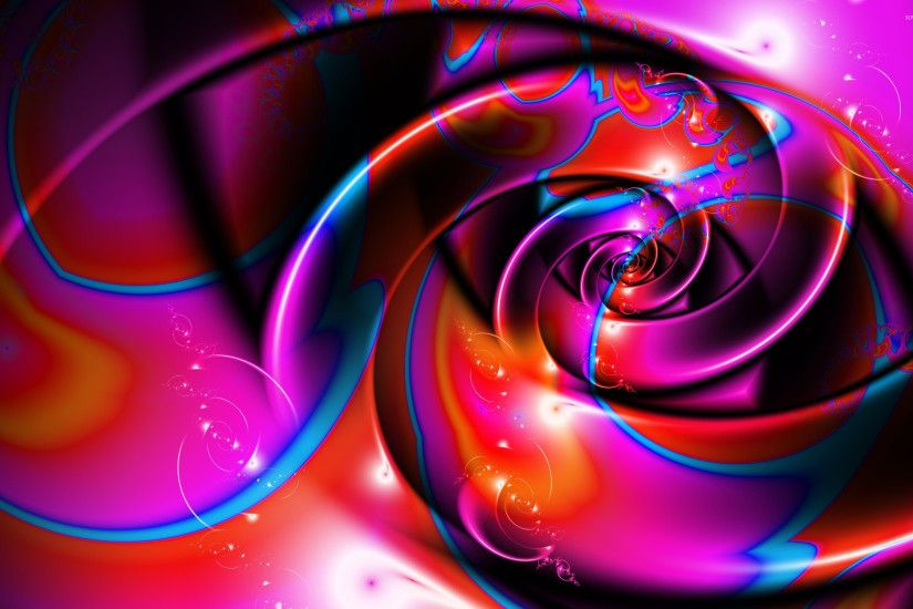Purple swirls wallpaper