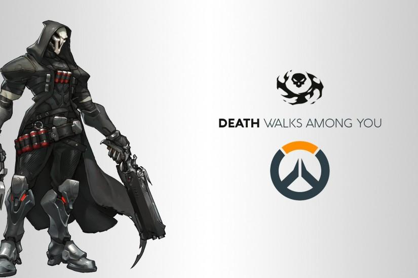 top overwatch reaper wallpaper 1920x1080 for samsung galaxy