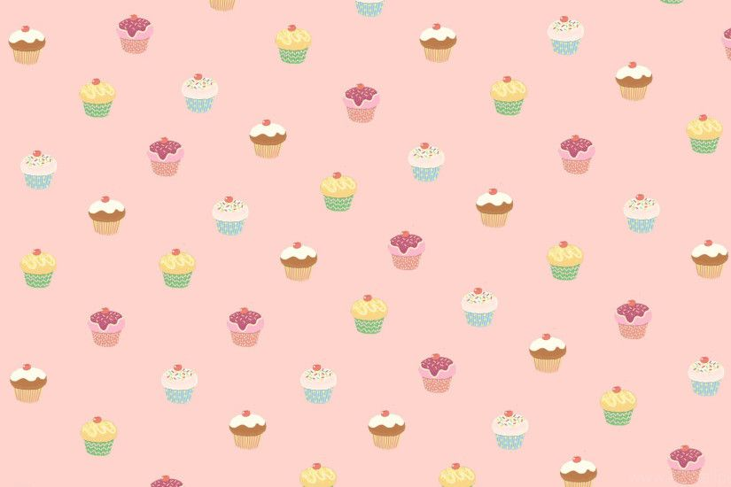 1920x1200 Cute animated cupcakes wallpaper - photo#13