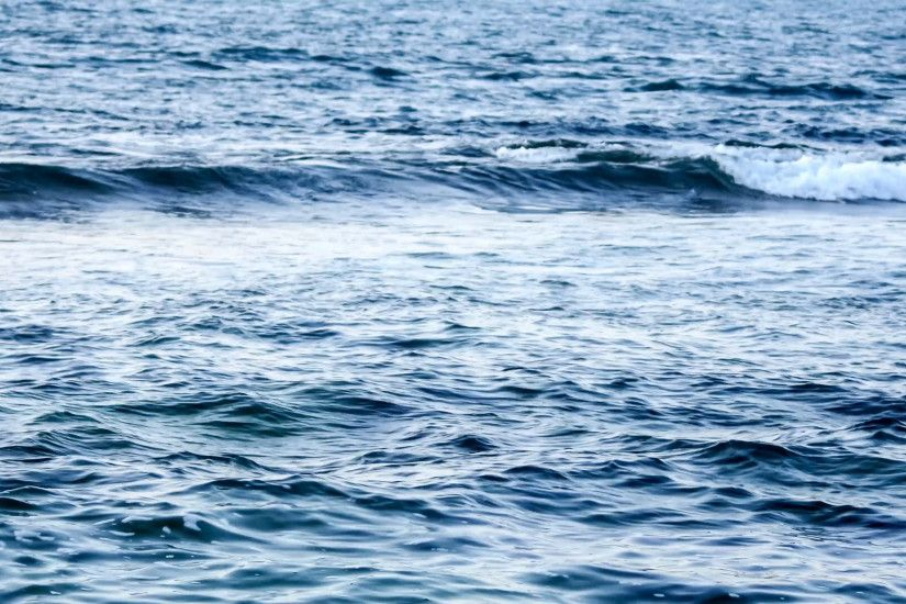Dark turbulent ocean waves background Stock Video Footage - VideoBlocks