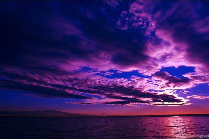 Purple Sunsets Wallpapers