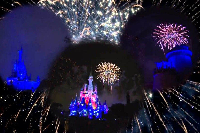 4th of July Fireworks at Disney World's Magic Kingdom multi angle HD 2013 -  YouTube