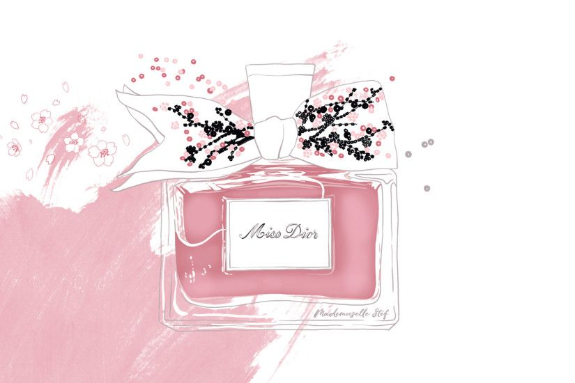 Wallpaper-miss-dior-mademoiselle-stef ...