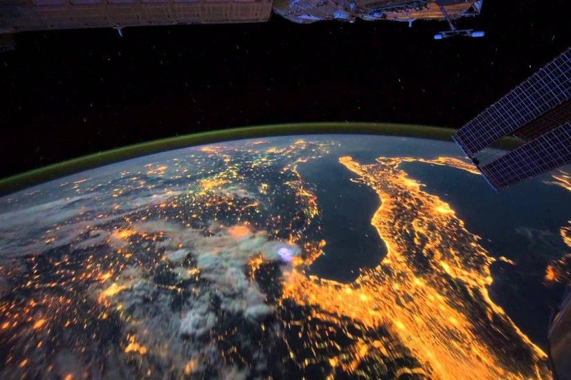 AMAZING VIEWS from the International Space Station