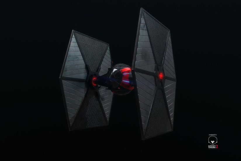 Tie-fighter - Turntable