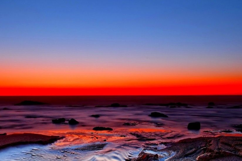 Beautiful Red Horizon HD wallpaper available for free download. The red  horizon images has a