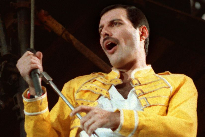 vintage freddie mercury queen hd wallpaper hdwallwide com