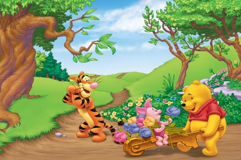 Wallpapers Of Winnie The Pooh Group (88 ) ...