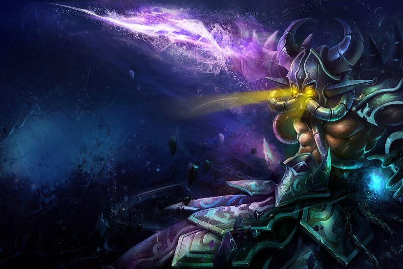 Deep One Kassadin Splash Art League of Legends Artwork Wallpaper lol
